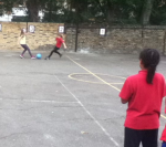 Improve those ball skills in Whittington Park!