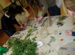 A Pedro Kalache tile-making workshop...