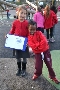 And so it came to pass... the Maths Walk was one of many Maths Week events.