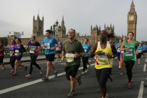 Top-speed tourism for the Royal Parks runners: look at that view.