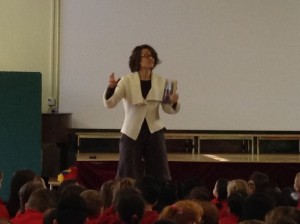 """Your imagination is better than any film!"" Ms del Pozo gets passionate about the power of reading."