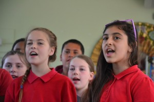 Sing it loud and proud, kids! We had some vocal stars in the making at Tufnell Park today...