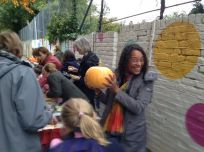 """With lovely Cygnus teachers running it,""""Guess the weight of the pumpkin"""" proved a popular option."""