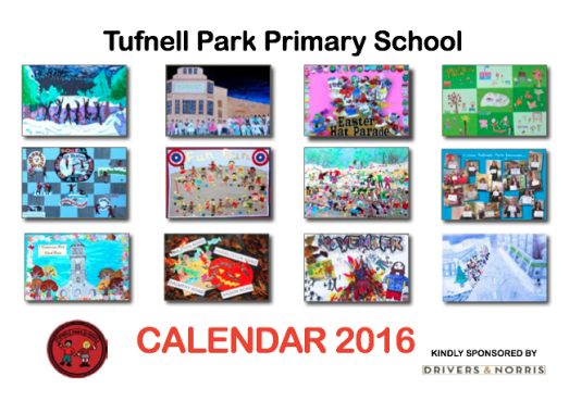 A page for every class, with a mystery contribution from the staff each August... our beautiful calendar has become an annual event.