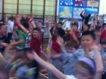 Sports Relief 2014 - the danceathon and healthy snack stall were a triumph...
