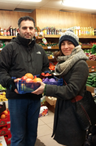 """A little help from our local business friends... the fantastic guys at Fam on Fortess Road (aka """"Best Greengrocer In the World"""") were super-generous with their donation for Sport Relief."""