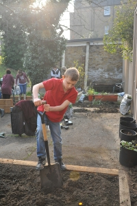 Our kids showed on Friday afternoon what brilliant little gardeners they can be - bring them along on Sunday 20th March at 1:30 to plant crops in the earth they've dug.