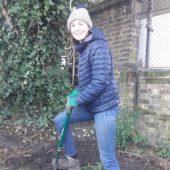Ciara Gardening