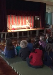 Reception puppet show 1