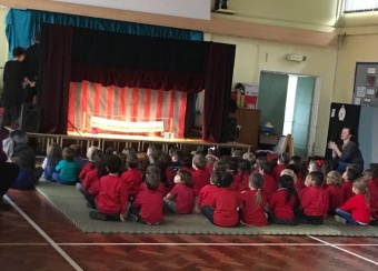 Reception puppet show 2