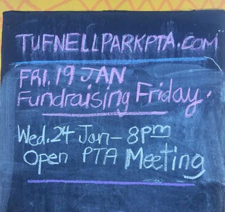 PTA notice board