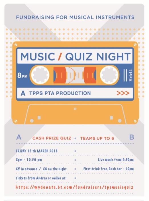 music quiz poster