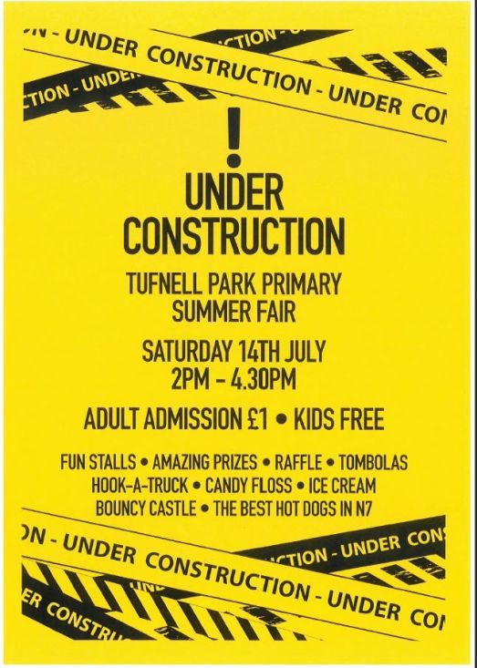 summer fair flyer