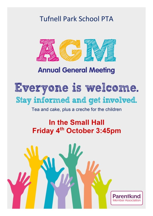 Parentkind scribble AGM poster template